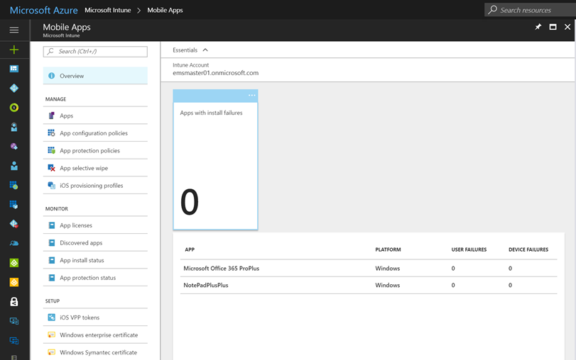 Deploy MSI apps through the new Intune Portal – The
