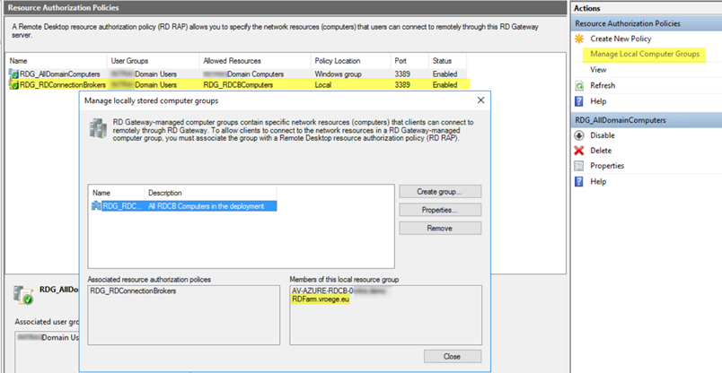 Configure the RDS 2016 HA Database on Azure SQL PaaS – The Microsoft