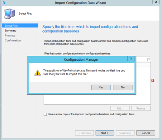 Managing your UE-V Agent Settings with Configuration Manager 2012 R2