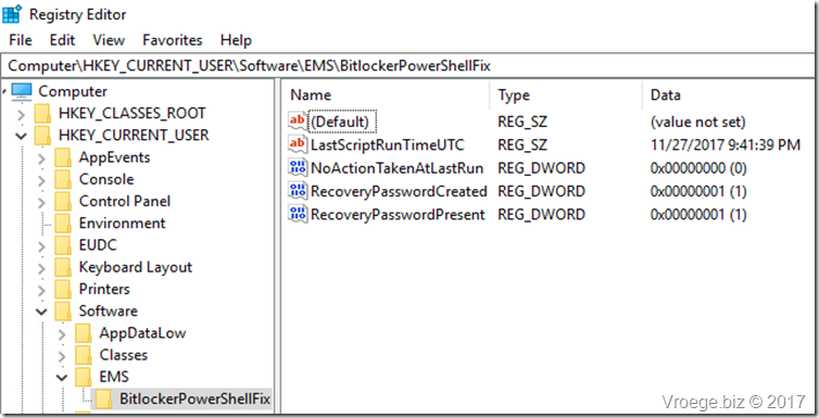 Backup Bitlocker Recovery Key with Intune PowerShell – The